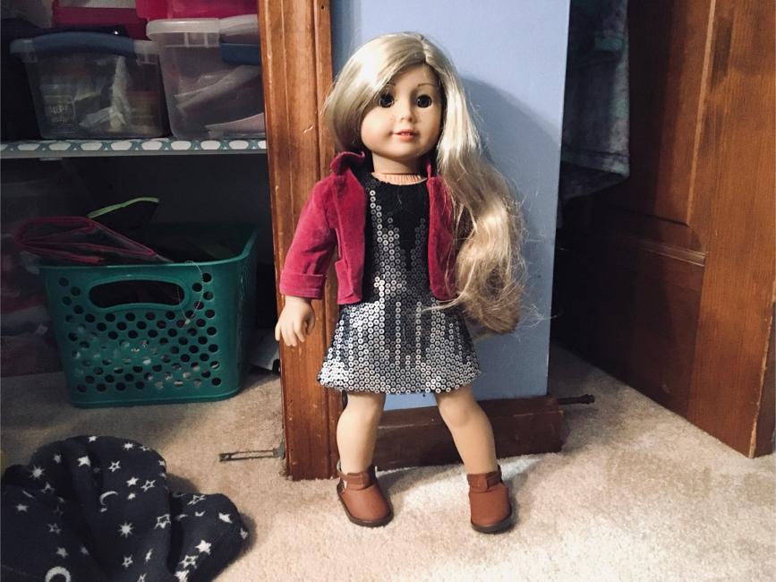Photo Tenny Grant American Girl Doll