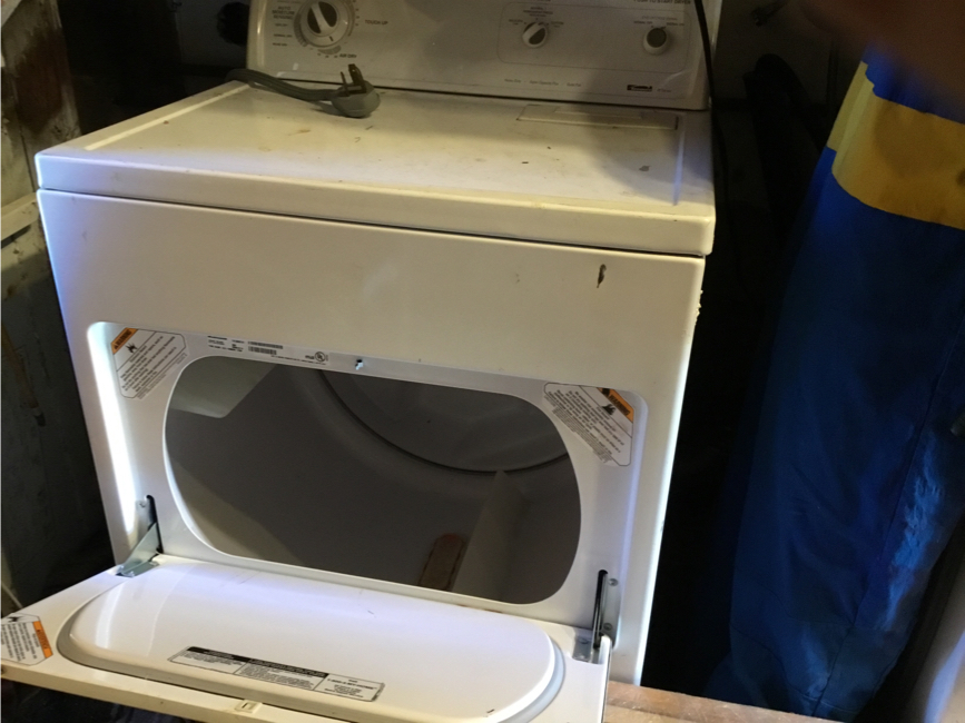 Photo Kenmore 80 series electric dryer