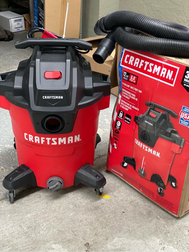 Photo Craftsman shop vac