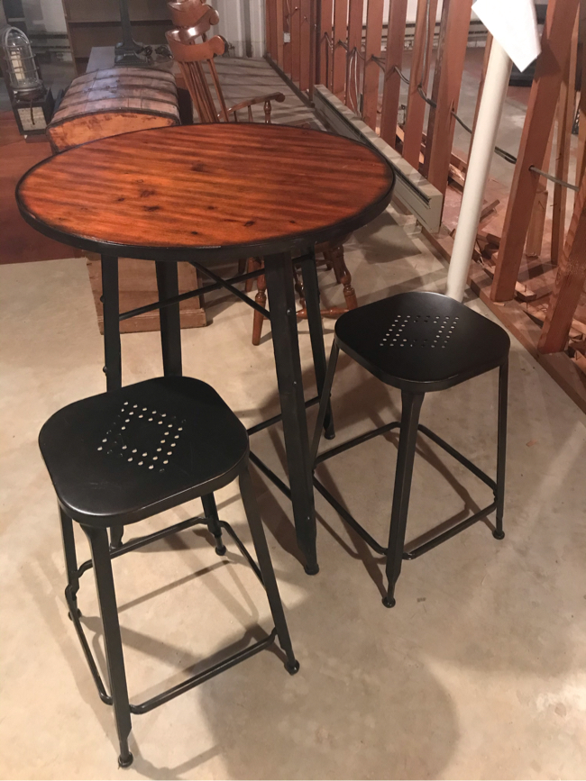 Photo Pier 1 Counter Table and Counter Stool Set