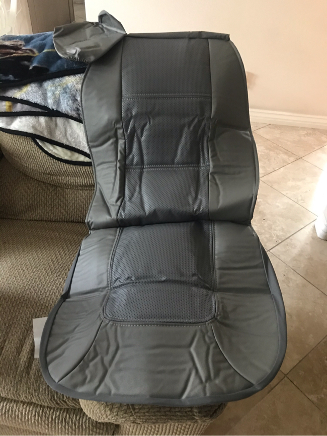 Photo One car seat cover brand new for cars, trucks & SUV's.