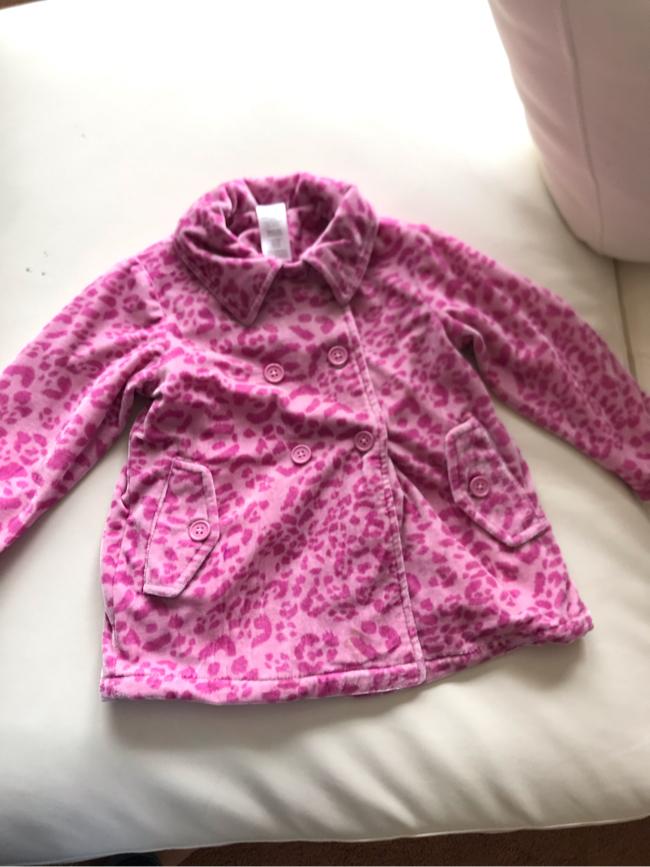 Photo Toddler Pink cheetah jacket 3T