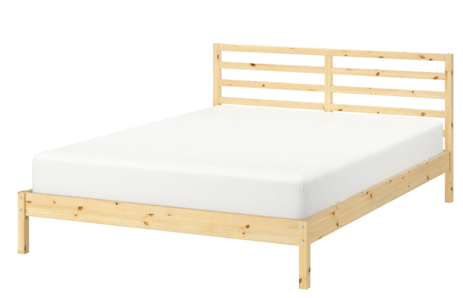 Photo IKEA queen bed and mattress