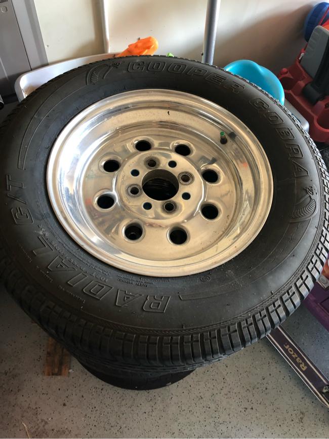 Photo 79-93 mustang drag lites weld wheels