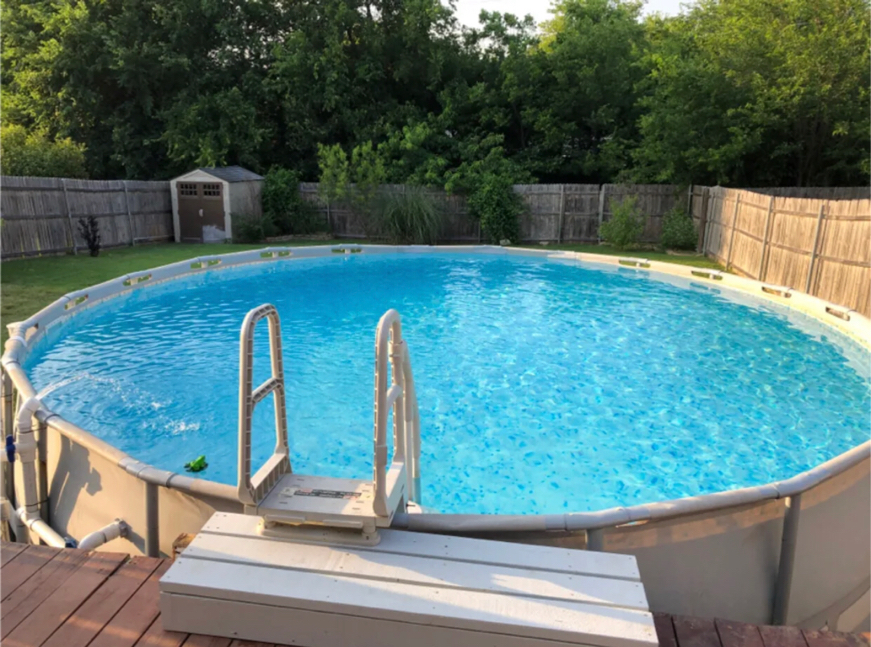 Photo Coleman Power Steel 22 ft above ground pool