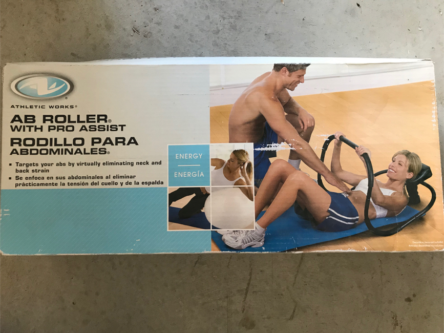 Photo Ab Roller with Pro Assist