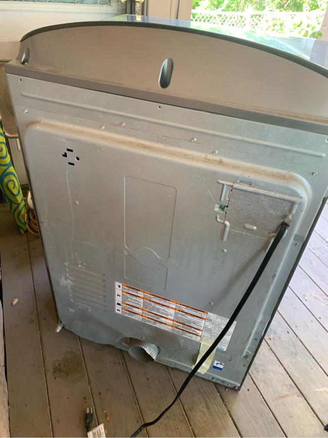 Photo Kenmore elite dryer