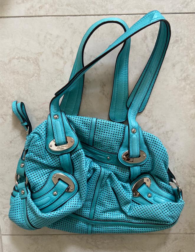 Photo Makowsky Aqua blue bag