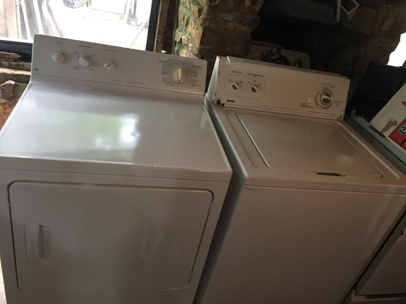 Photo Kenmore/GE Washer&Dryer