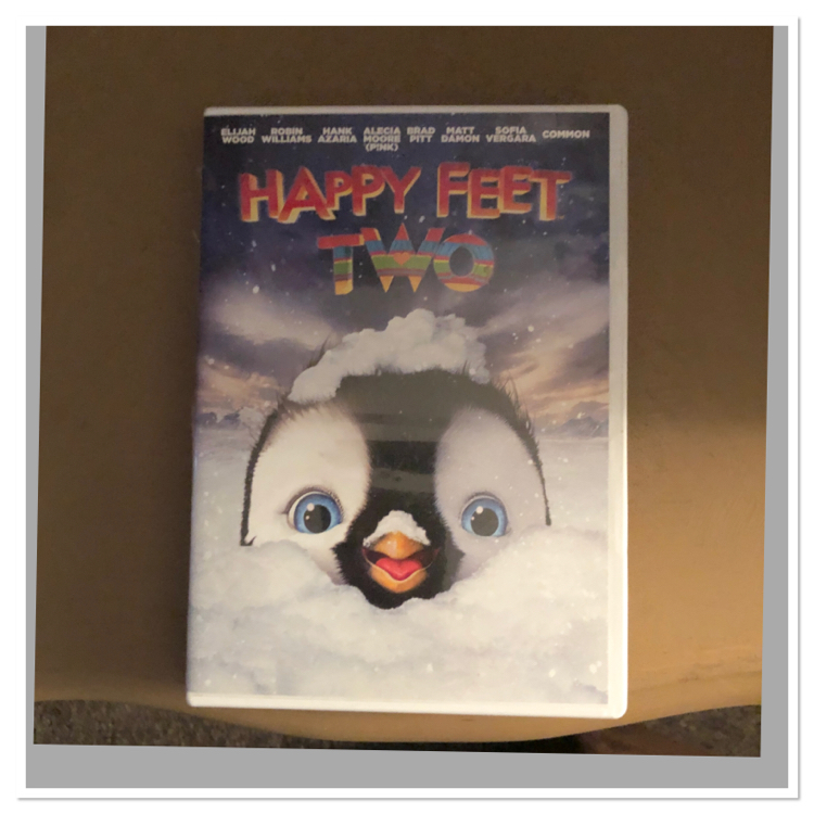 Photo DVD movie happy feet 2