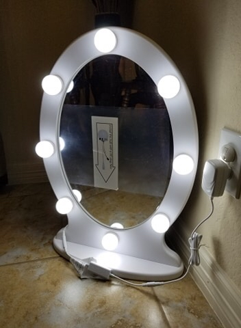 Photo LED Large Vanity Makeup Mirror With Lights