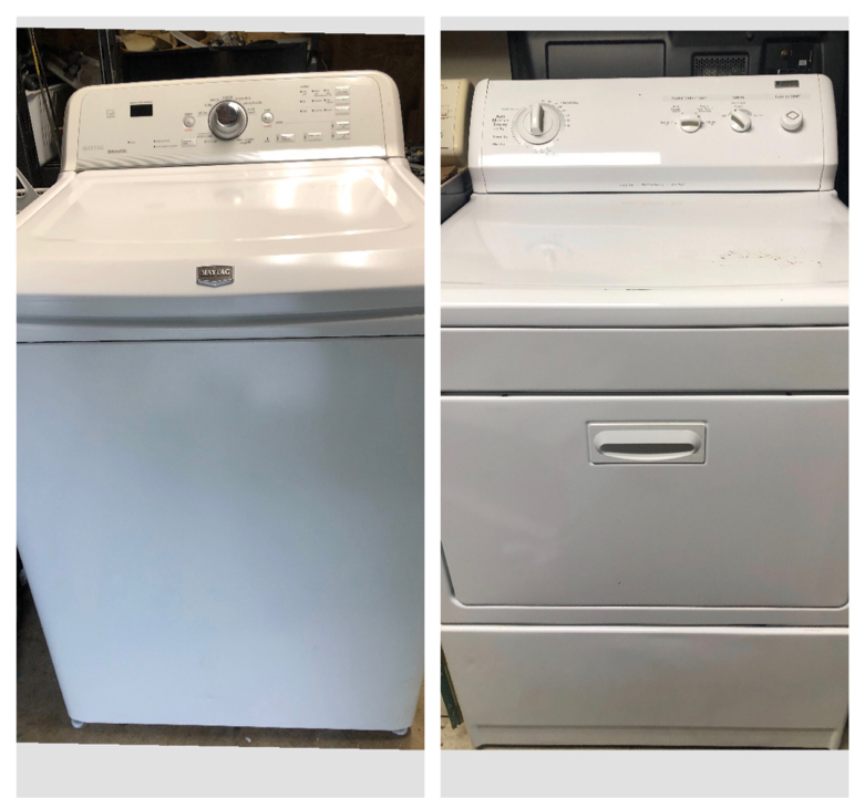 Photo Maytag/Kenmore Washer and Dryer