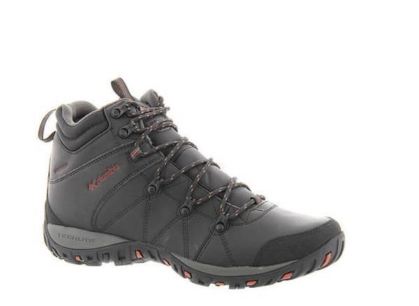 Photo Men`s Columbia Peakfreak Venture Mid Omni-Heat WP Hiking Boots size 10