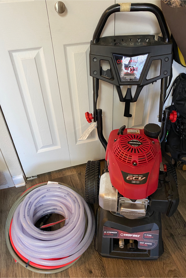 Photo Troy bilt power washer