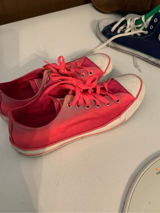 Photo Pink converse