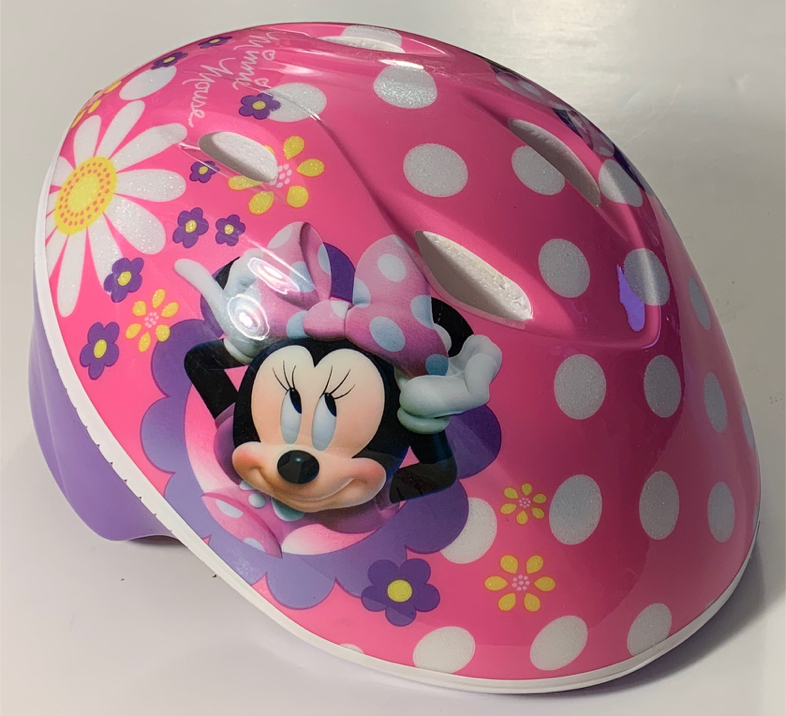 Photo Bell Disney Minnie Mouse Pink Toddler 3+ Bike Helmet