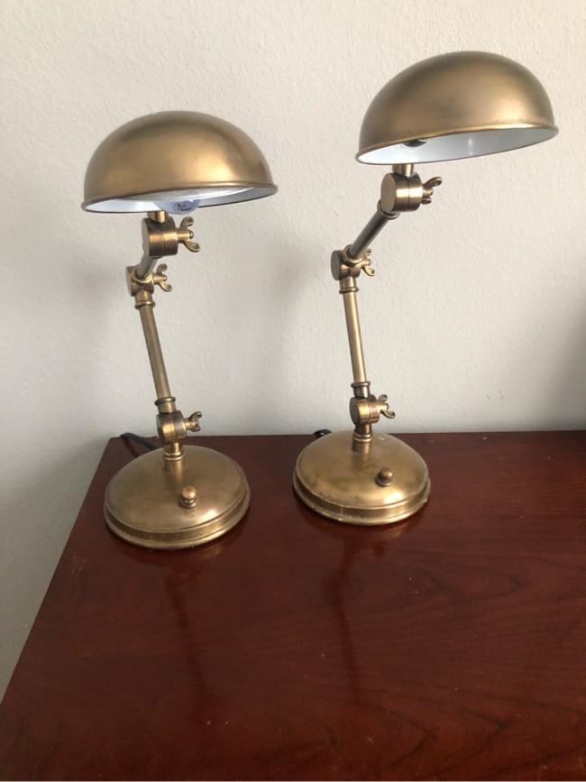 Photo Pottery Barn Desk Lamps