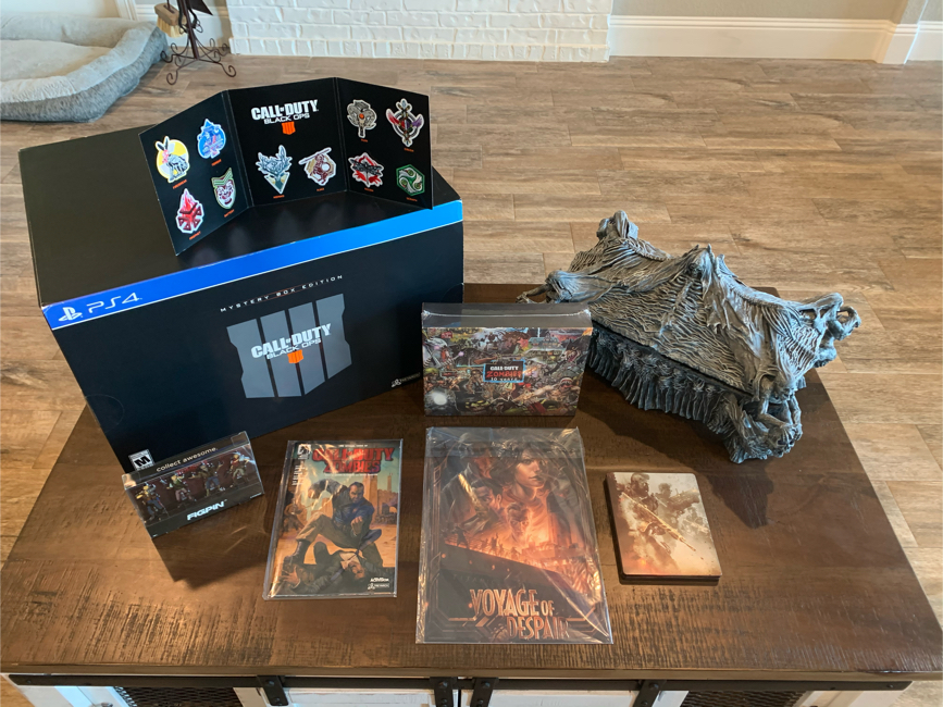 Photo Call of Duty Black Ops 4 Mystery Box Collectors Edition