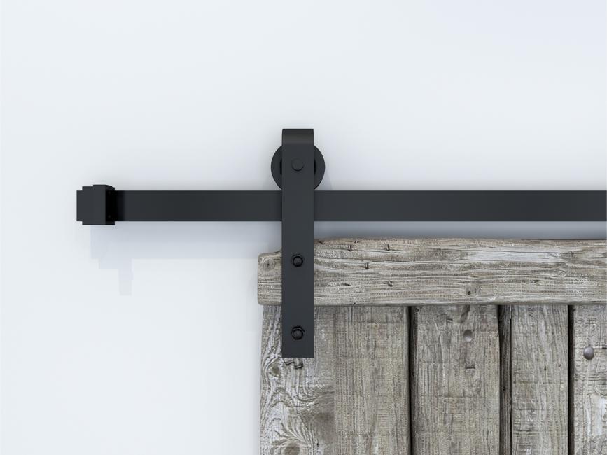 Photo 6.6 ft/6 ft / 5 ft / 8 ft Barn Door hardware Sliding Track