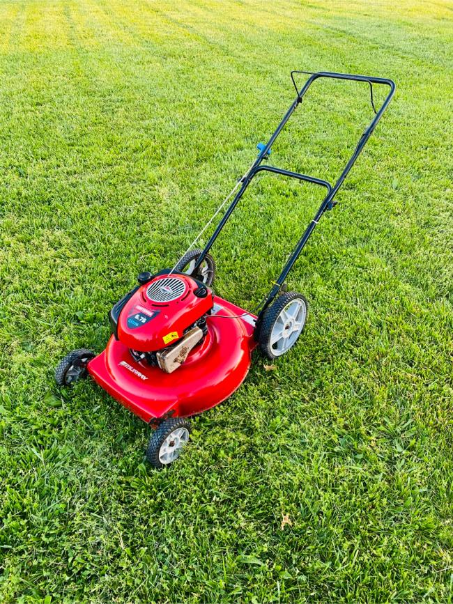 Photo Murray 22in Push Lawn Mower