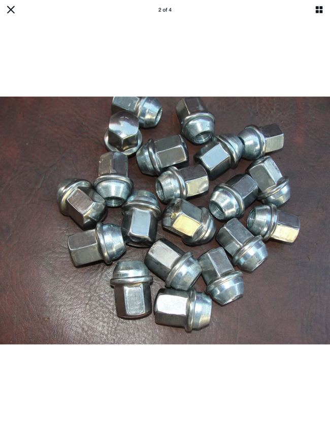 Photo 20 - 14mm x 1.5 Lug Nuts for 2012 -2017 Dodge Ram Jeep Chrysler .. & other New 20 lug nuts for one price of 20.00.
