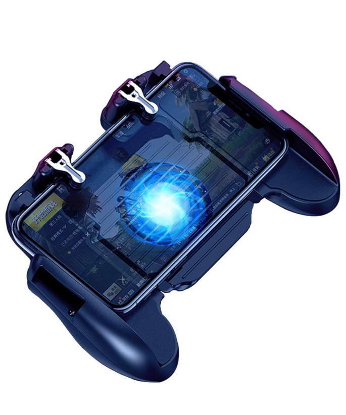 Photo Mobile Controller & Cooling Fan & Battery for PUBG Mobile Game Controller Joystick