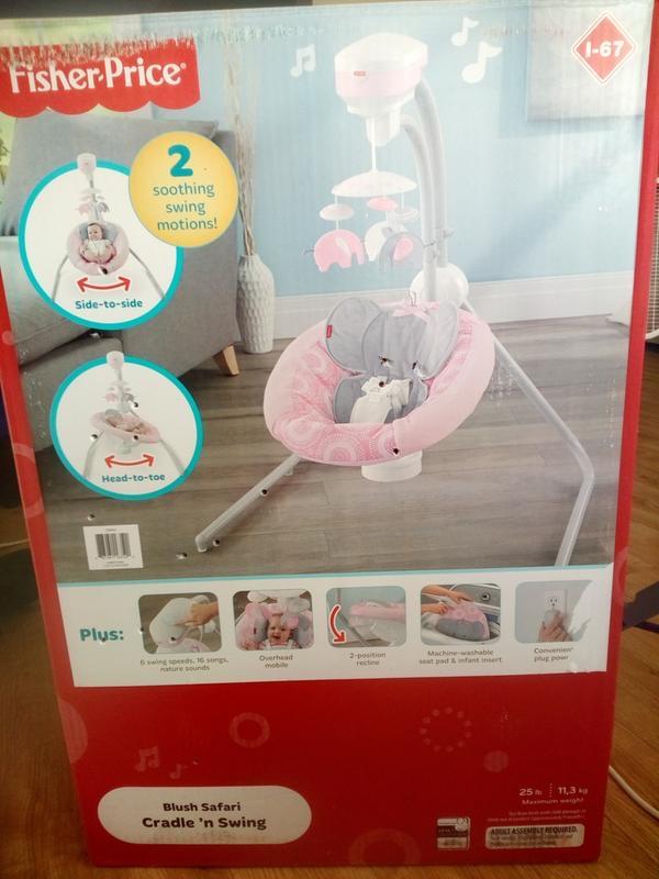 Photo Fisher-price baby swing