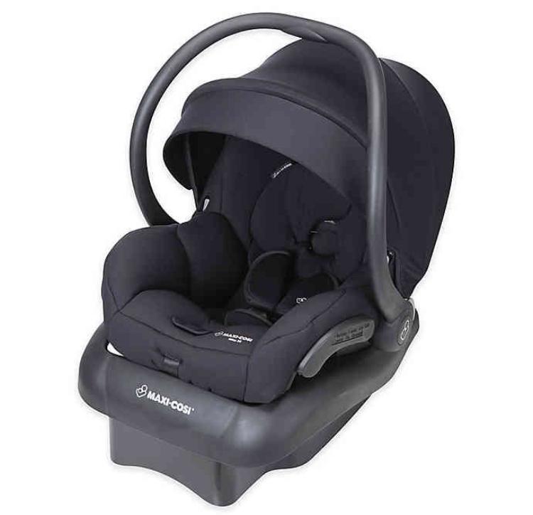Photo Maxi Cosi Infant Car Seat Black Without Base