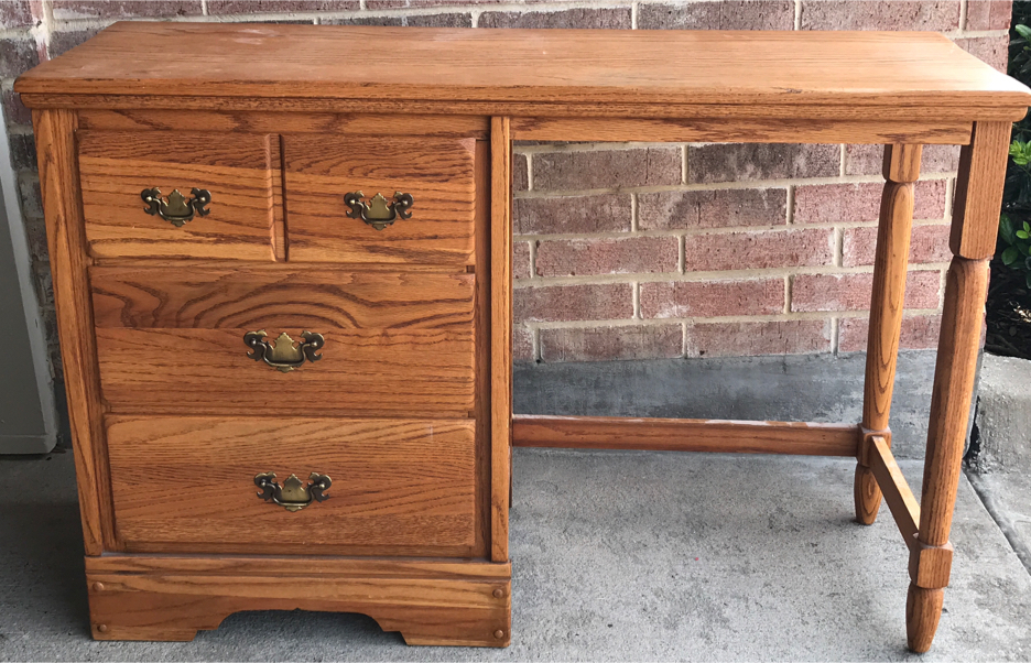 Photo Desk with drawers