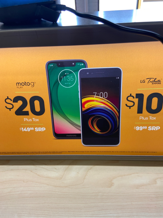 Photo Add a line today and get two amazing phones for a low price!