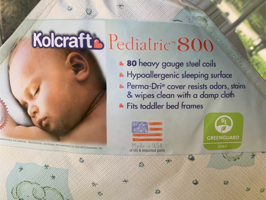 Photo Kolcraft Baby Crib Mattress