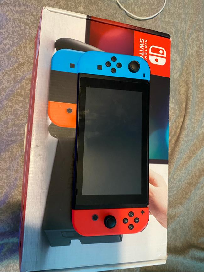 Photo Nintendo switch V1 first Gen