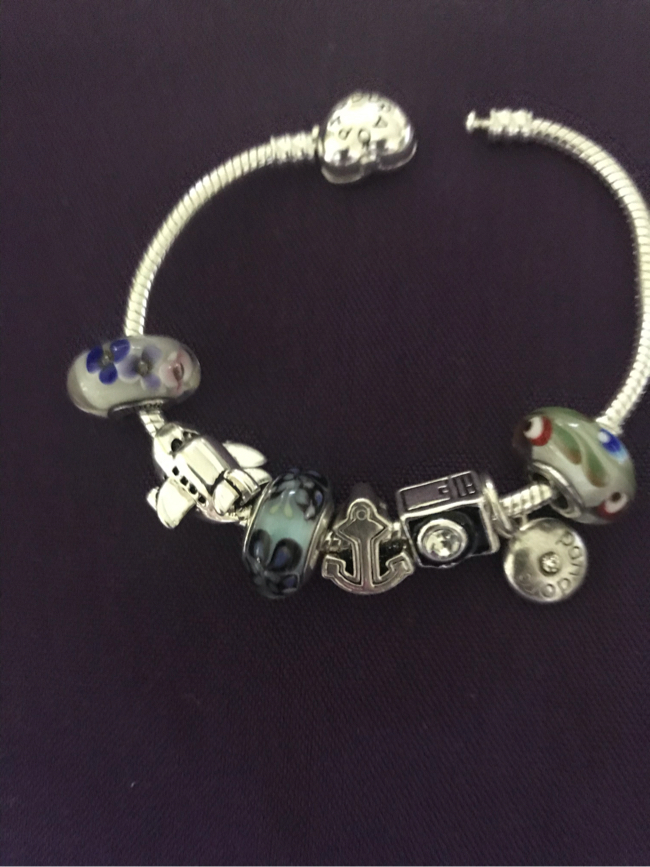 "Photo Pandora Bracelet ""9"""