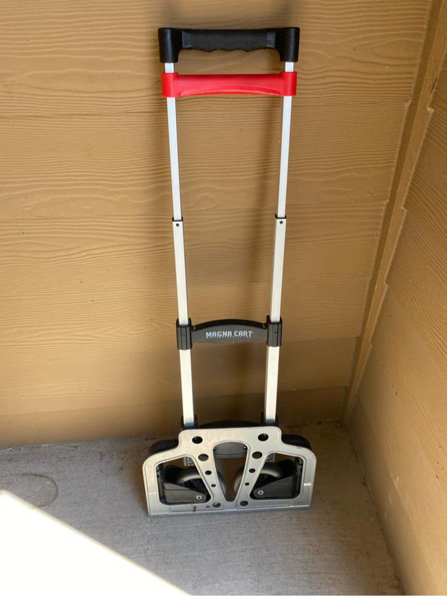 Photo Magnacart Aluminum folding cart / dolly