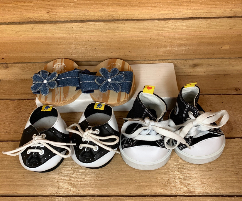 Photo Build-A-Bear bundle of 3 pairs of shoes
