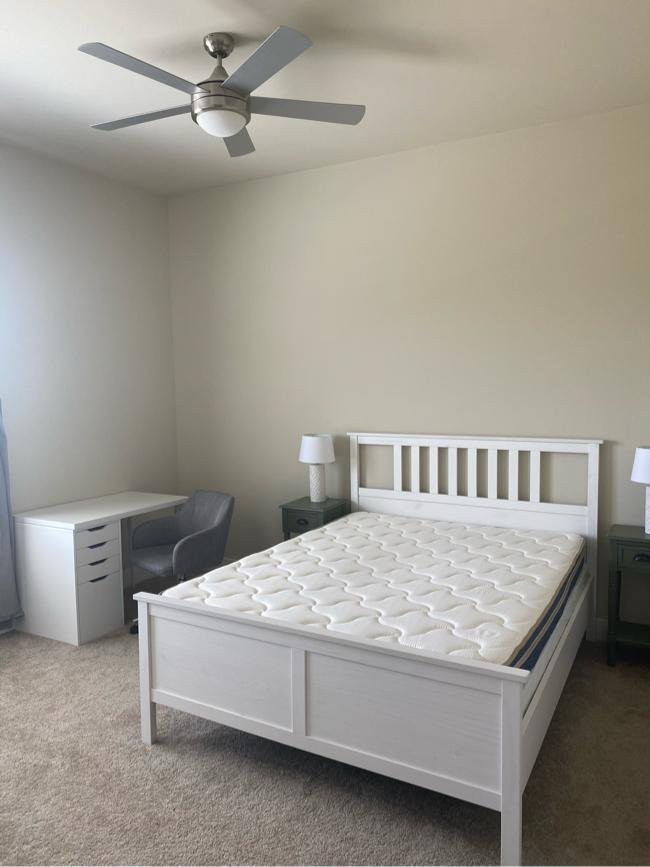 Photo $400 IKEA Bed Frame, Mattress & Box Spring