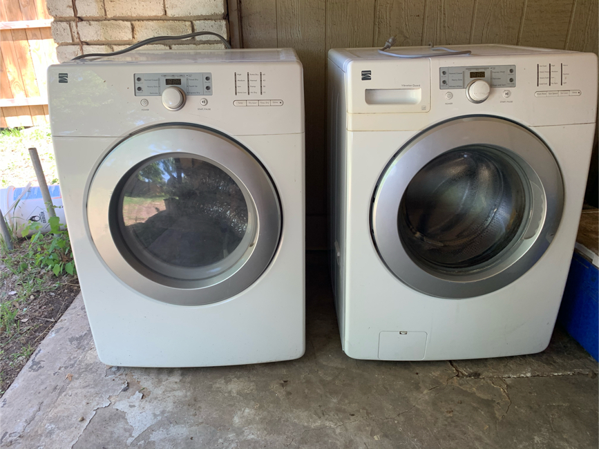 Photo Kenmore Washer & Dryer