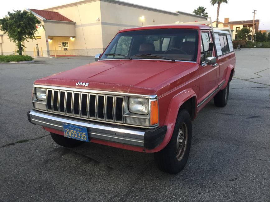 Photo 1986 Jeep Comanche 2dr XLS 4WD Standard Cab LB