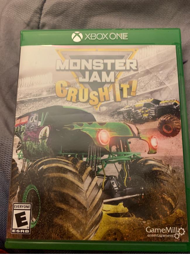 Photo Monster jam crush it game