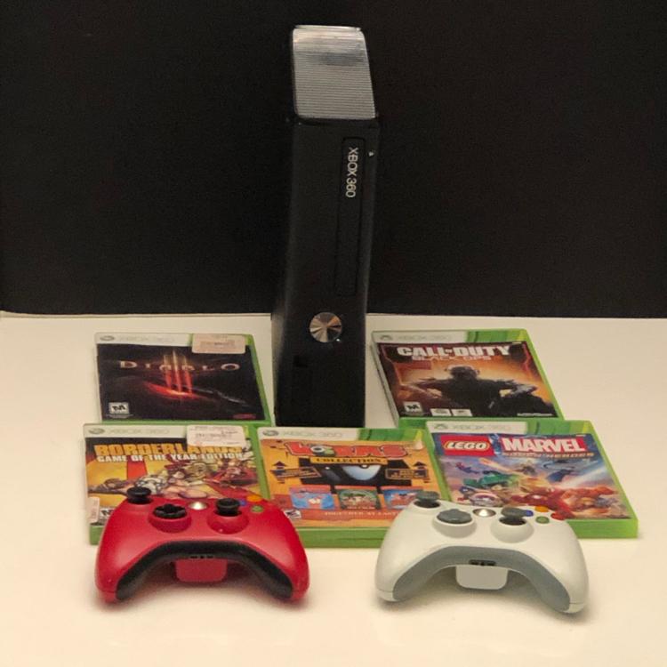 Photo Xbox 360 system bundle