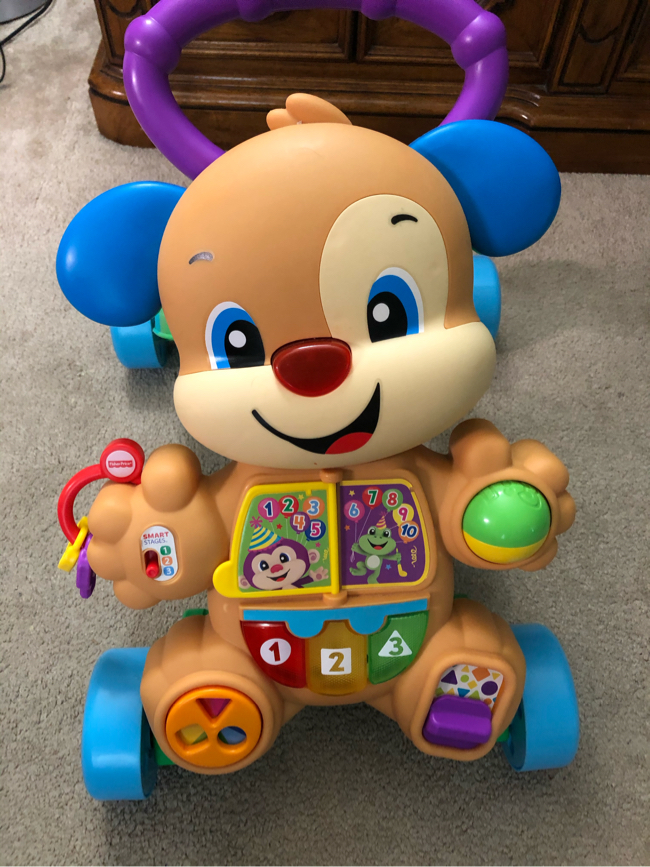 Photo Fisher-Price Laugh & Learn Smart Stages Learn with Puppy Walker