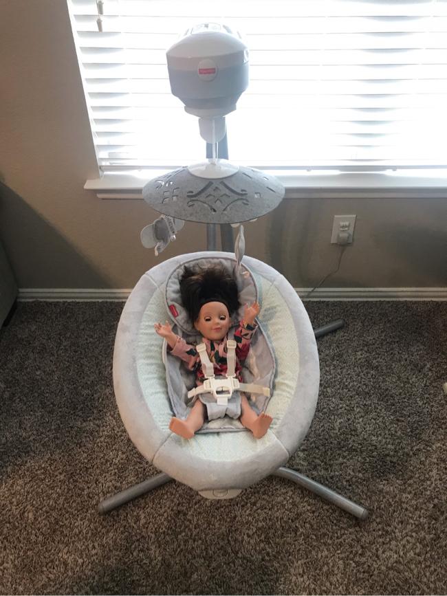Photo Baby Fisher-Price Cradle & Swing