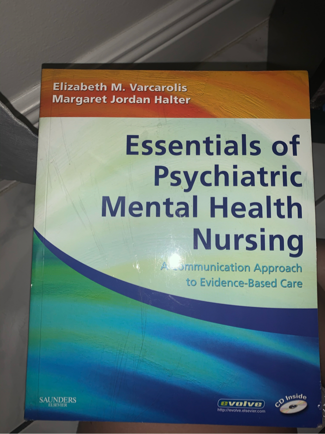 Photo Saunders - Essentials of Psychiatric Mental Health Nursing