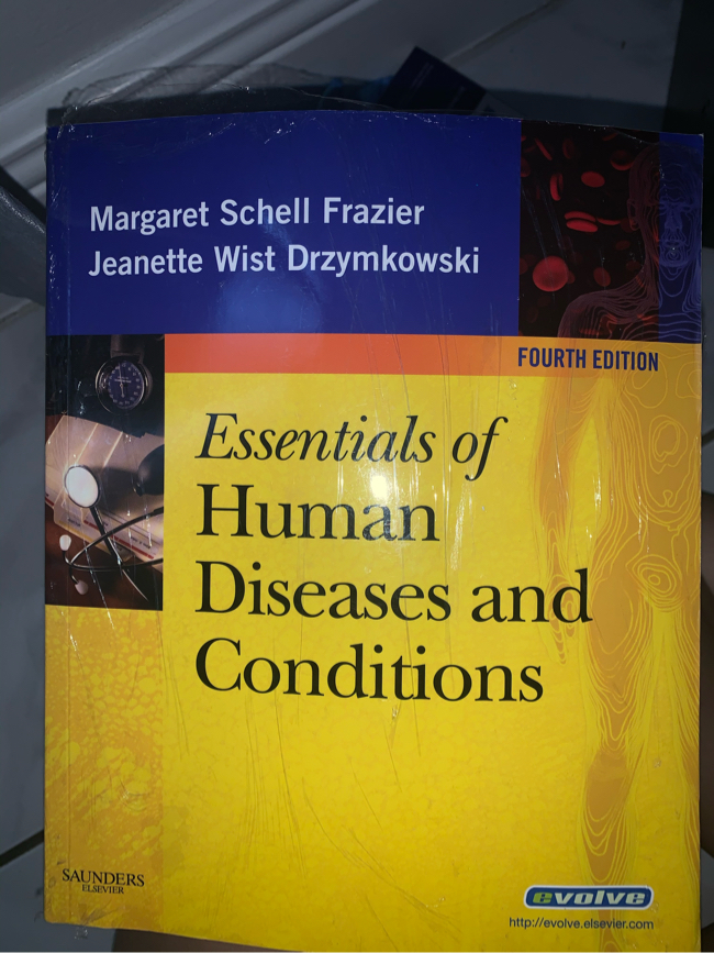 Photo Saunders - Essentials of Human Diseases and Condition (4th Edition)