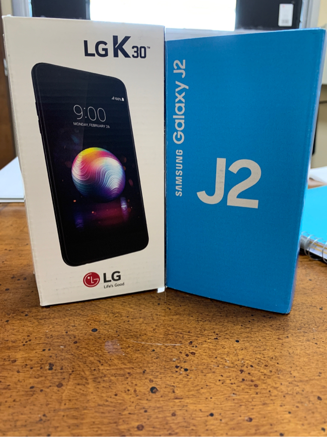 Photo Samsung Galaxy J2/ LG K30 Box Packed Unlocked