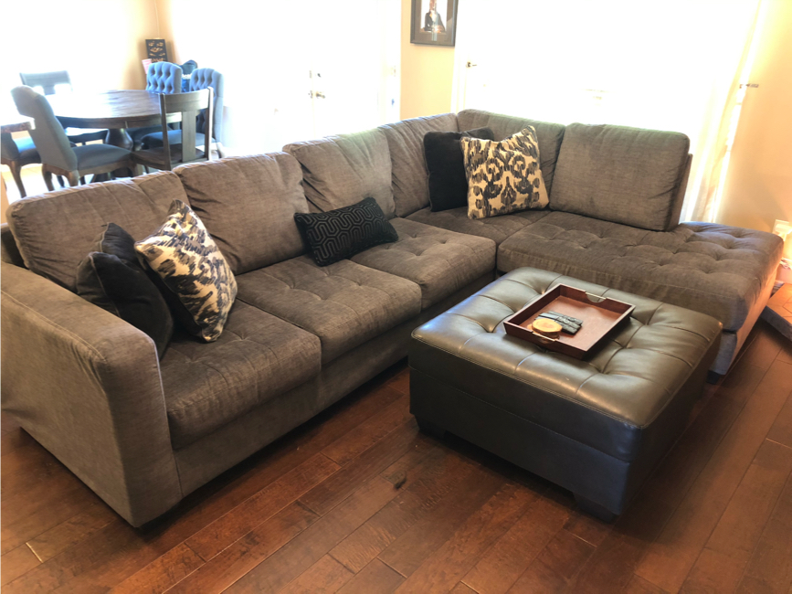 Photo Sectional Couch Set
