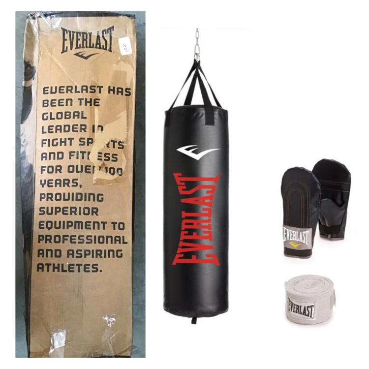 Photo Everlast 100 lb. Nevatear Heavy Bag Kit