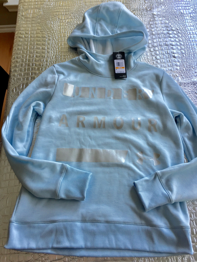 Photo Brand new Under Armour baby blue hoodie