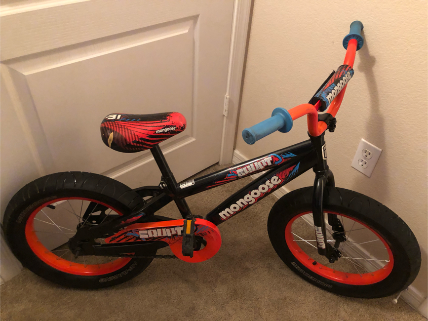 """Photo 16"""" Boy's Mongoose Fat-Tire Bicycle"""